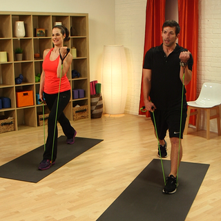 A 10-Minute Resistance Band Workout