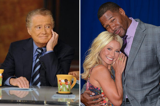 Michael Strahan Replace Regis Philbin