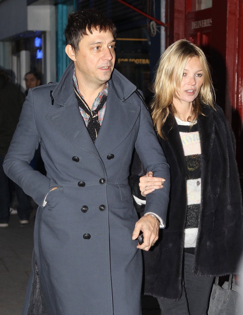 Kate Moss and Jamie Hince Get a Head Start on Holiday Shopping