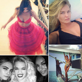 Celebrity Instagram Pics: Miranda Kerr Kate Moss Lara Bingle