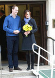 Prince William and wife Kate Middleton left The King Edward VII Hospital in London on December 6, a few days after Kate was admitted with acute morning sickness due to her first pregnancy.