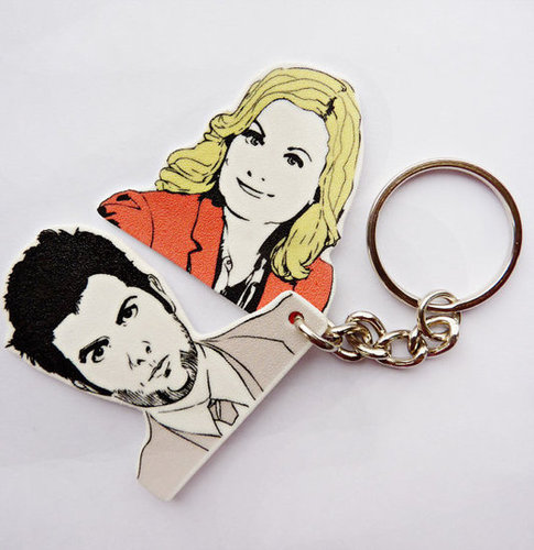 Parks and Recreation Ben and Leslie Key Chain ($10)
