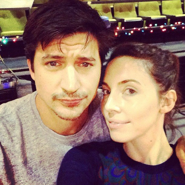 Whitney Cummings cozied up to Ken Marino. Source: Instagram user therealwhitney