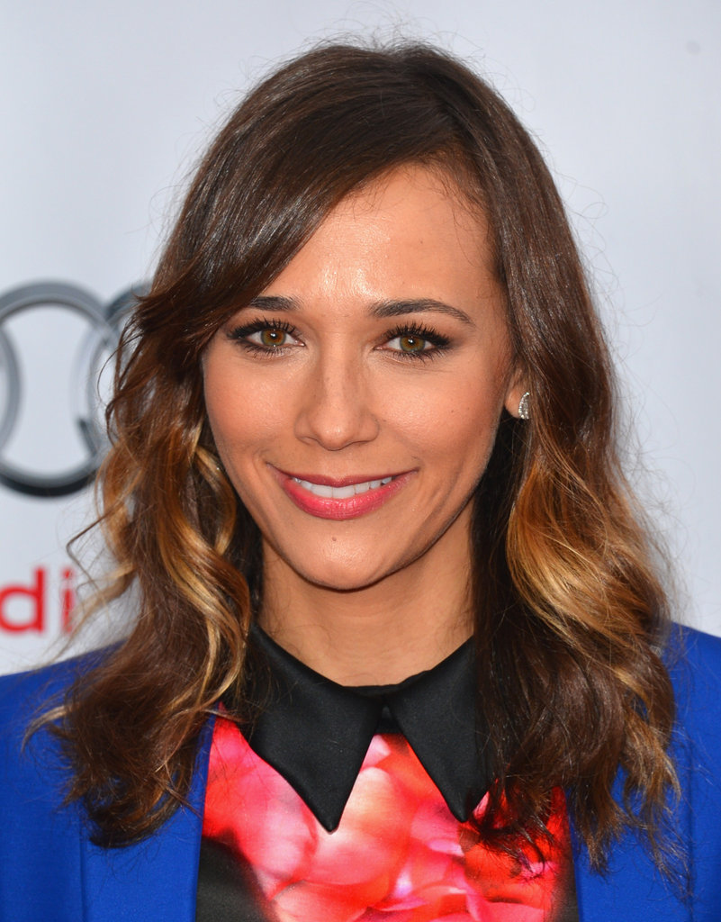 Rashida Jones smiled in LA.