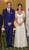 Kate Middleton and Prince William got formal for an event in Malaysia in September 2012.
