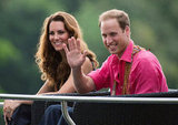 Kate Middleton and Prince William waved to crowds during their stop in the Solomon Islands in September 2012.