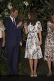 Prince William and Kate Middleton toasted with water in September during a special dinner in Singapore.