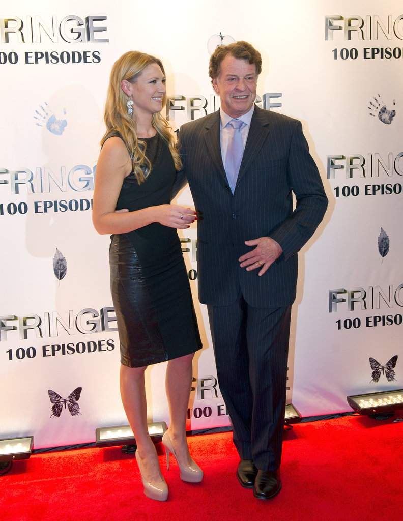 John Noble and Anna Torv were on the red carpet in Vancouver.