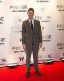 Seth Gabel attended the Fringe100 episodes and final season party in Vancouver.