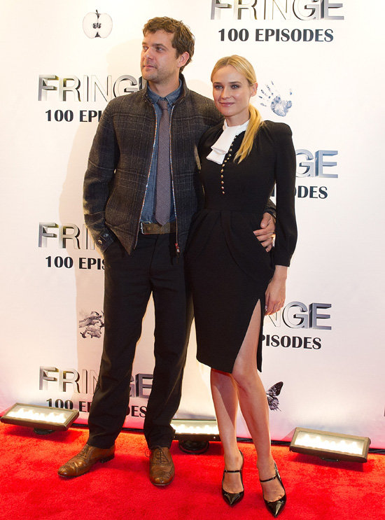 Joshua Jackson and Diane Kruger Celebrate 100 Episodes of Fringe Together