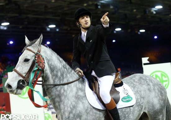 Guillaume Canet competed in the Paris Masters.