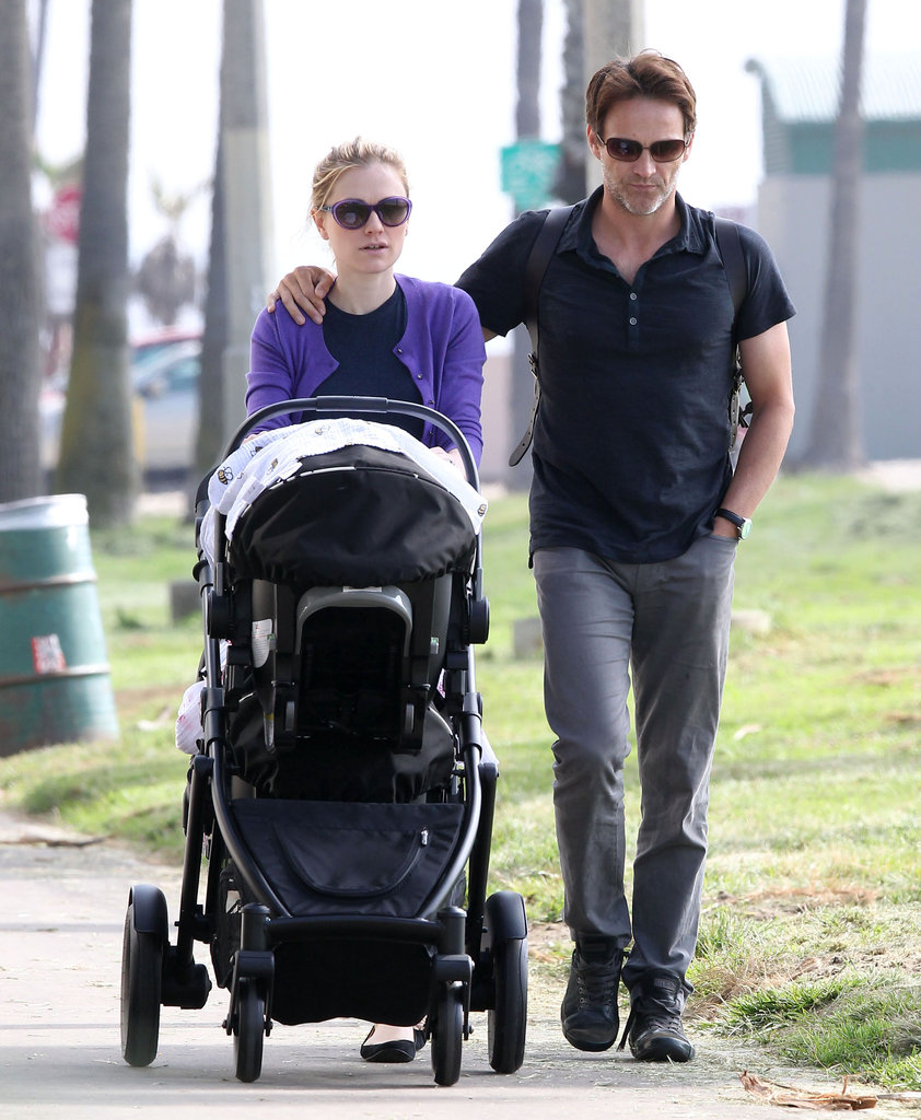 Anna Paquin and Stephen Moyer welcomed twins, a boy and a girl, in September.