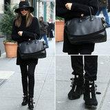 Miranda Kerr Wearing Tabitha Simmons Boots