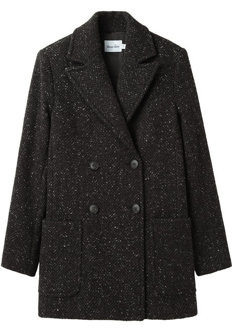This Steven Alan Jolene Coat ($298, originally $425) has just the right amount of boy-meets-girl appeal.