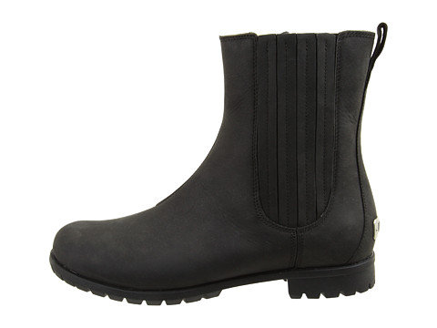 "You might not guess it at first, but these UGG Ramos boots ($130, originally $200) are the cool girl's answer to ""what to wear when it's absolutely disgusting outside."" Not only is the leather finish waterproof, but also, the boot is equipped with Vildonia insole technology, which just so happens to thermally react to the temperatures at hand. Awesome, right?"