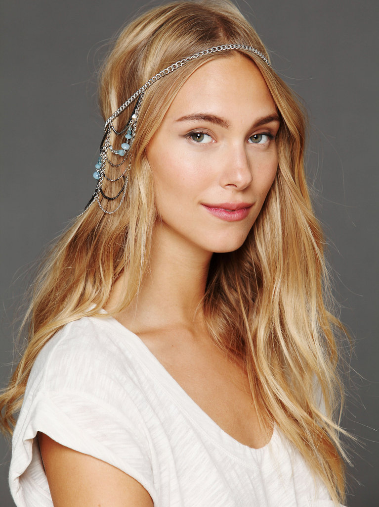 Headpieces are such a fun way to add something new and unexpected to a party look; not only would this Free People Multi-Chain Halo ($48) look amazing with an LBD, but it would also jazz up a t-shirt and leather leggings for a casual night out. — Britt Stephens, assistant editor