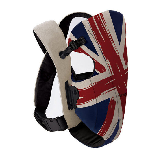 Snugli Front Baby Carrier in Union Jack