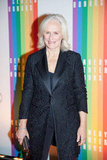 Glenn Close posed on the red carpet.