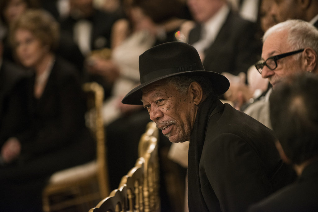 Morgan Freeman sat down at the Kennedy Center Honors.