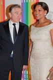 Robert De Niro and his wife, Grace Hightower, attended the Kennedy Center program.