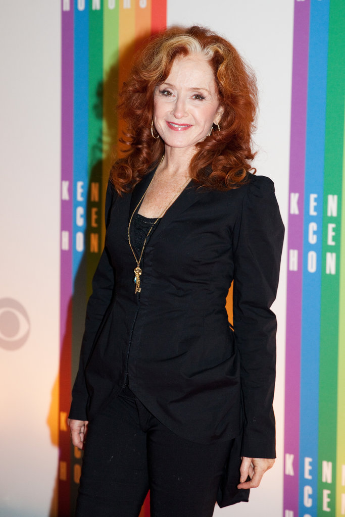 Performer Bonnie Raitt attended the event.