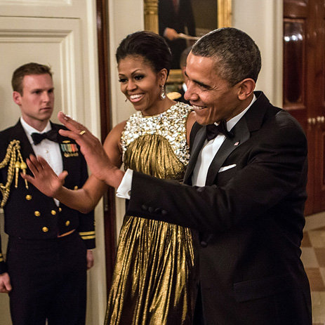Michelle Obama at Kennedy Center Honors 2012