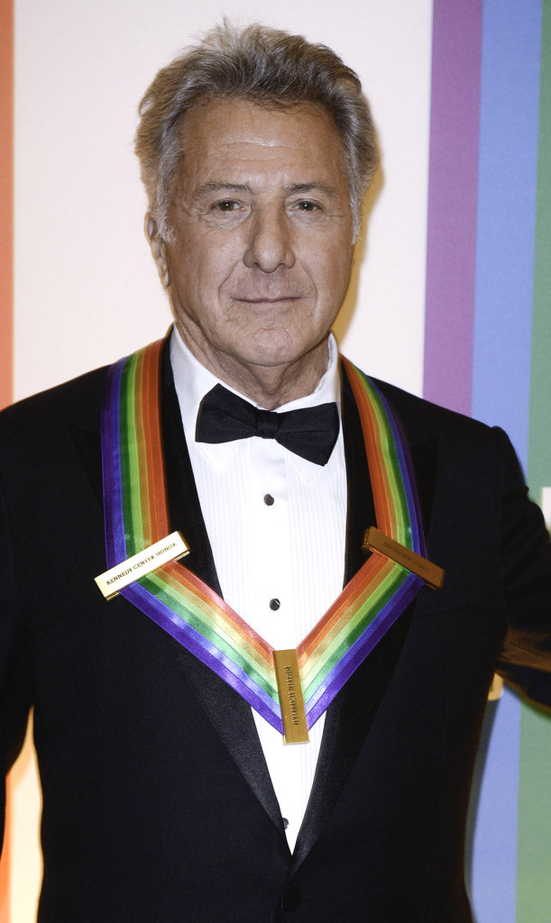 Dustin Hoffman was honored at the event.