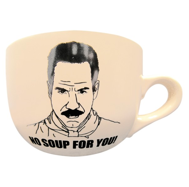 Seinfeld No Soup For You Mug ($15)