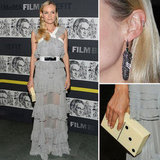 Diane Kruger Goes Sheer in Prabal Gurung at the Museum of Modern Art