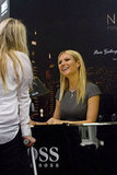 Gwyneth Paltrow met fans at the Paris Gallery in Dubai.