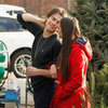 Nina Dobrev and Ian Somerhalder Pick Out a Christmas Tree