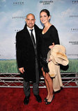 Stanley Tucci and Felicity Blunt attended the Promised Land  premiere in NYC.