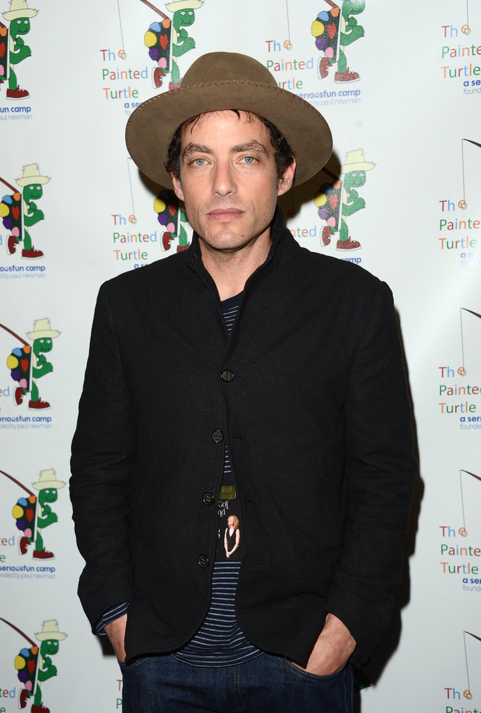 Jakob Dylan was in attendance for the charity concert in LA.