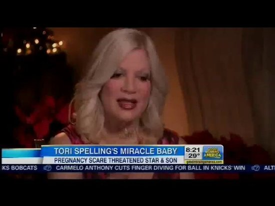 Tori Spelling Opens Up About Her Difficult Pregnancy