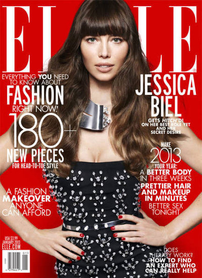 Jessica Biel Talks JT, Honeymooning, and Future Plans With Elle