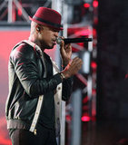 Ne-Yo performed at the Grammy Nominations concert in Nashville.