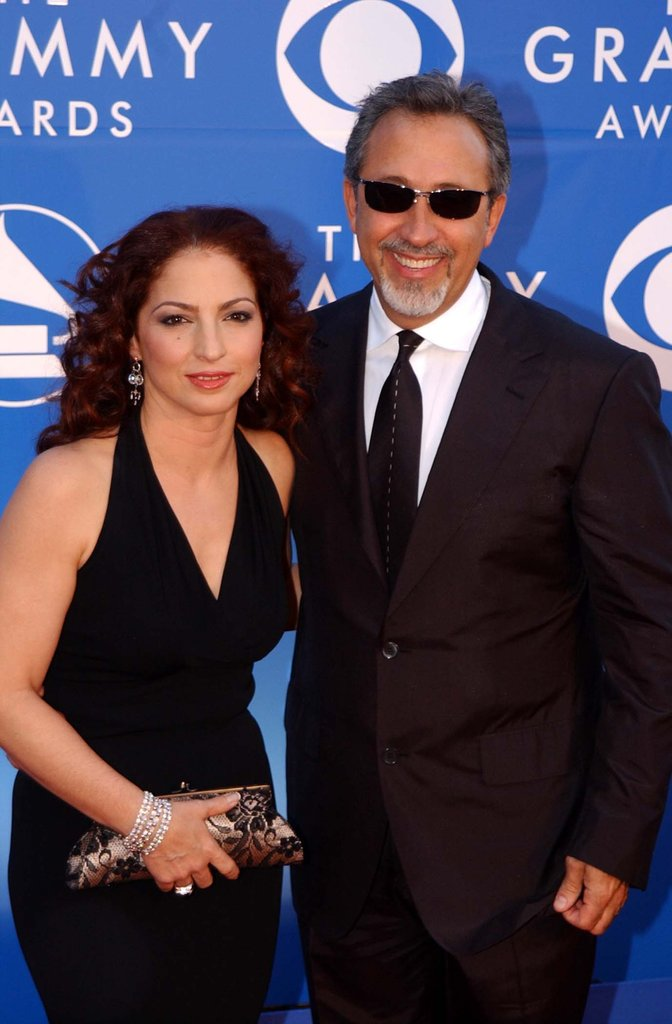 Gloria and Emilio Estefan, 2002