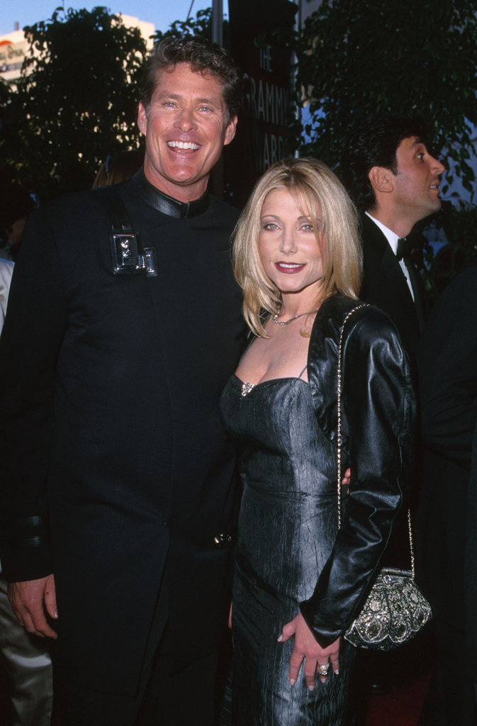 David Hasselhoff and Pamela Bach, 2000