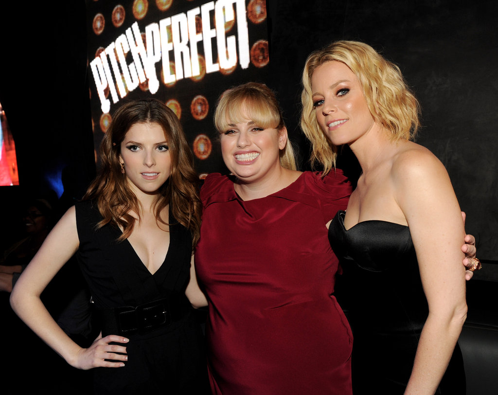 "Today, Rebel's latest movie Pitch Perfect hit screens across the country. Co-starring Elizabeth Banks and Anna Kendrick, the musical has Rebel singing and dancing as bullied character ""Fat Amy"". One thing's for sure: Rebel's star is rising very rapidly!"