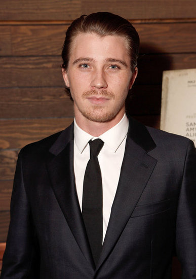 Garrett Hedlund wore a suit to the screening in LA.
