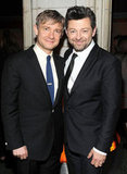 Martin Freeman and Andy Serkis got together for a photo.