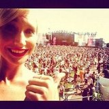 Maude Garrett checked out the crowd at Stereosonic in Melbourne. Source: Instagram user maudegarrett
