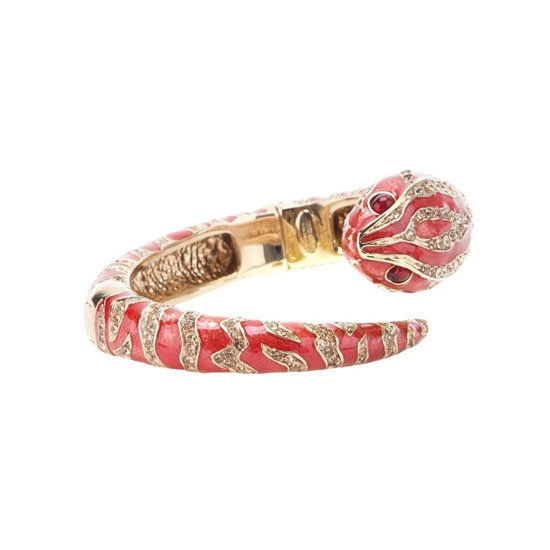 Bracelet, approx $590, Roberto Cavalli at Far Fetch