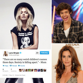 Celebrity Tweets: Cindy Crawford, Rebel Wilson, Harry Styles