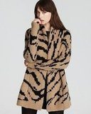 We love the fun animal print on Juicy Couture's Ziger sweater coat ($298).