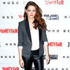 Kristen Stewart Wearing Tuxedo Blazer