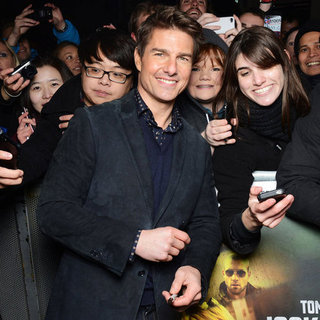 Tom Cruise Pictures at Jack Reacher World Premiere