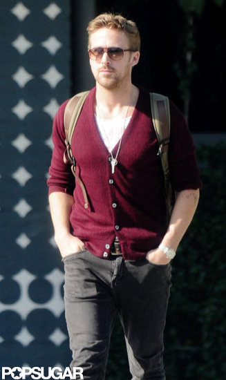 Ryan Gosling kept his hands in his pockets as he strolled.