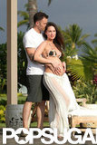 Megan Fox showed off her baby bump alongside husband Brian Austin Green on the Hawaiian island of Kona back in June.
