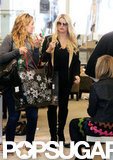 Jessica Simpson shopped in Beverly Hills.
